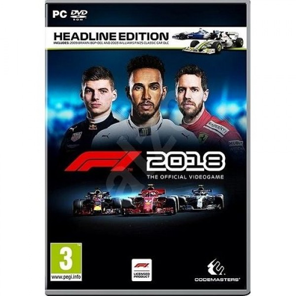 Game PC F1 2018 Headline Edition Játékprogram PC