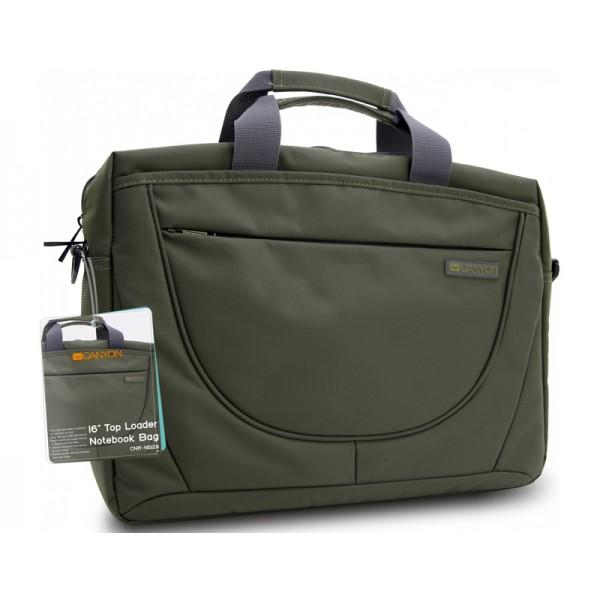 """Laptop táska CANYON 16"""" Green (CNR-NB29) Laptop táska"""