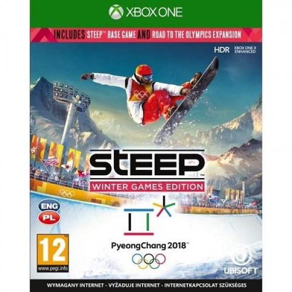 Game XBOX ONE Steep Winter Games Edition Játékprogram XBOX ONE