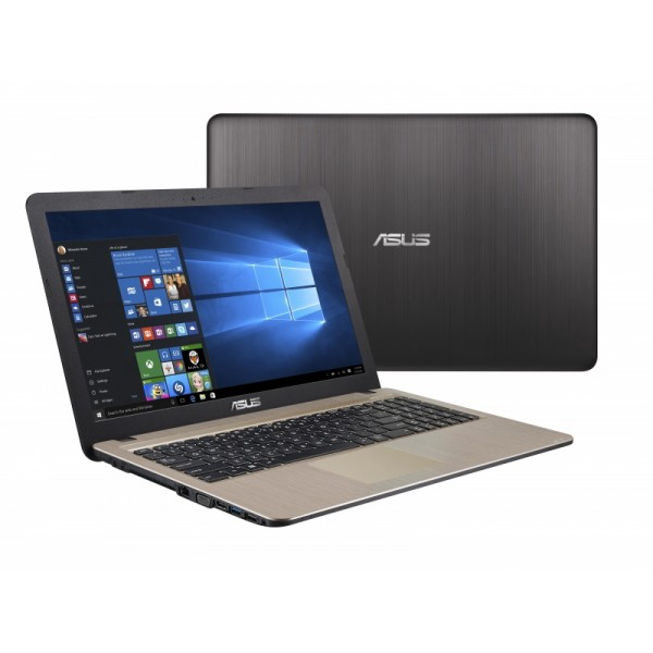"Asus VivoBook X540MA - 15.6"" HD, Celeron DualCore N4000, 4GB, 128GB HDD, Microsoft Windows 10 Home - Fekete Laptop Laptop"