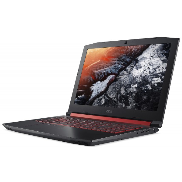"Acer Nitro 5 (AN515-52-77N9) - 15.6"" FullHD IPS 144Hz, Core i7-8750H, 8GB, 1TB HDD, nVidia GeForce GTX 1050Ti 4GB, Linux - Fekete Gamer Laptop Laptop"