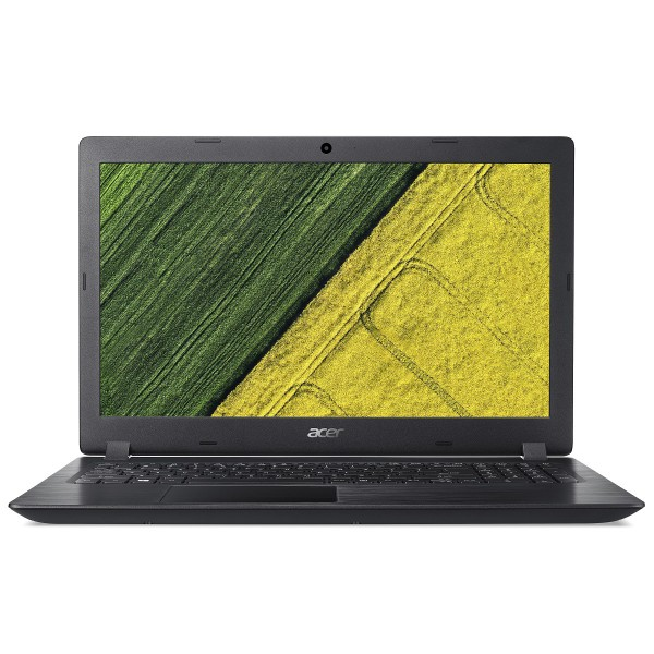 """Acer Aspire 3 (A315-51-3369) - 15.6"""" HD, Core i3-7020U, 4GB, 1TB HDD, Linux - Fekete Laptop Laptop"""