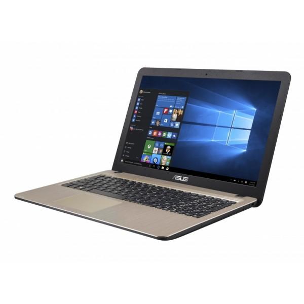 """Asus VivoBook X540MB - 15.6"""" HD, Celeron N4000, 4GB, 500GB HDD, nVidia GeForce MX110 2GB, Linux - Fekete Laptop Laptop"""