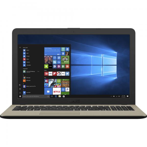 "Asus VivoBook 15 (X540UA) - 15.6"" HD, Pentium 4405U, 4GB, 500GB HDD, DVD író, Linux - Fekete Laptop Laptop"