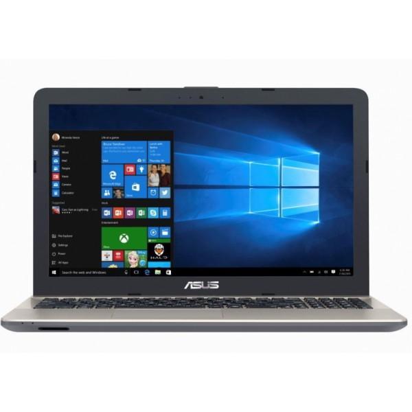 """Asus VivoBook Max X541SA - 15.6"""" HD, Intel Atom x5-E8000, 4GB, 500GB HDD, Linux - Fekete Laptop Laptop"""