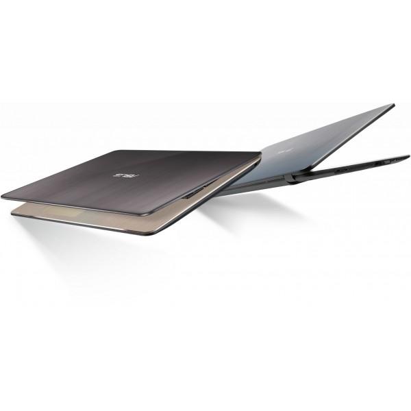 "Asus VivoBook Max X540NV - 15.6"" FullHD, Celeron N3350, 4GB, 256GB SSD, nVidia GeForce 920MX 2GB, Linux - Fekete Laptop Laptop"