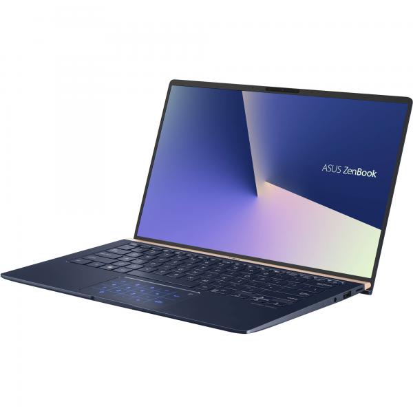 "Asus ZenBook S (UX392FN) - 13.9"" FullHD IPS, Core i7-8565U, 16GB, 512GB SSD, nVidia GeForce MX150 2GB, Microsoft Windows 10 Home - Kék Ultrabook Laptop Laptop"