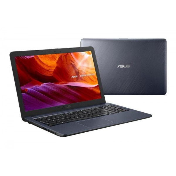 "Asus VivoBook 15 (X543UA) - 15.6"" HD, Core i3-7020U, 4GB, 500GB HDD, DVD író, Linux - Szürke Laptop Laptop"