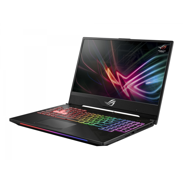 "Asus ROG STRIX SCAR II (GL504GV) - 15.6"" FullHD IPS 144Hz, Core i7-8750H, 8GB, 512GB SSD, nVdia GeForce RTX 2060 6GB, DOS - Fekete Gamer Laptop Laptop"