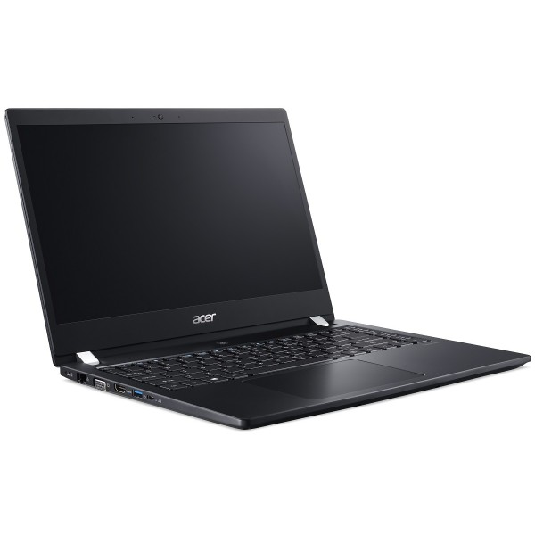 "Acer TravelMate X3 (TMX3410-M-51QM) - 14.0"" FullHD IPS, Core i5-8250U, 8GB, 512GB SSD, Linux - Fekete Üzleti Ultrabook Laptop 3 év garanciával Laptop"