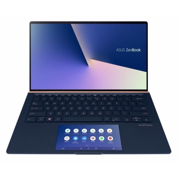 "Asus ZenBook 13 (UX334FL) - 13.3"" FullHD, Core i5-8265U, 8GB, 256GB SSD, Microsoft Windows 10 Home - Kék Ultrabook Laptop Laptop"