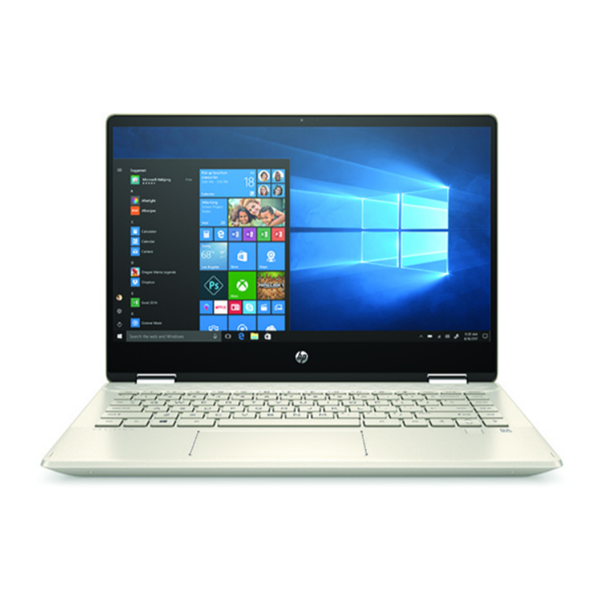 """HP Pavilion x360 2in1 (14-DH1003NH) - 14.0"""" FullHD IPS TOUCH, Core i5-10210U, 8GB, 512GB SSD, Microsoft Windows 10 Home - Arany Átalakítható Laptop 3 év garanciával Laptop"""