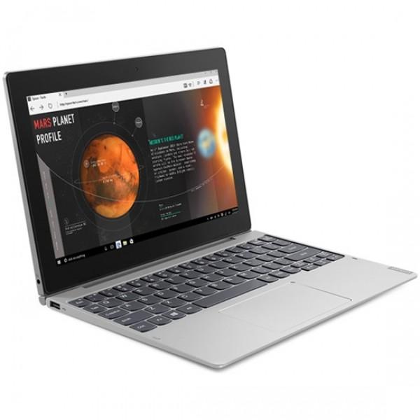 "Lenovo Ideapad D330 2in1 - 10.1"" FullHD IPS TOUCH, Pentium QuadCore N5000, 8GB, 128GB eMMC, Microsoft Windows 10 Professional - Átalakítható Szürke Laptop Hibrid"