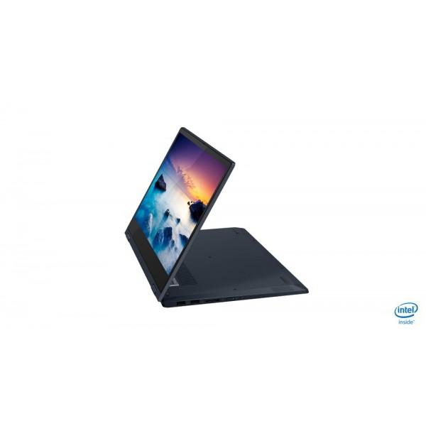 "Lenovo Ideapad C340 2in1 - 14.0"" FullHD TOUCH, Core i5-8265U, 4GB, 256GB SSD, Microsoft Windows 10 Home - Kék Átalakítható Laptop Laptop"
