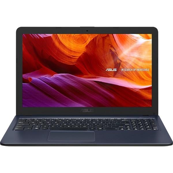 """Asus X543 (X543UB) - 15.6"""" HD, Core i3-7020U, 4GB, 1TB HDD, nVidia GeForce MX110 2GB, Microsoft Windows 10 Home - Sötétszürke Laptop Laptop"""