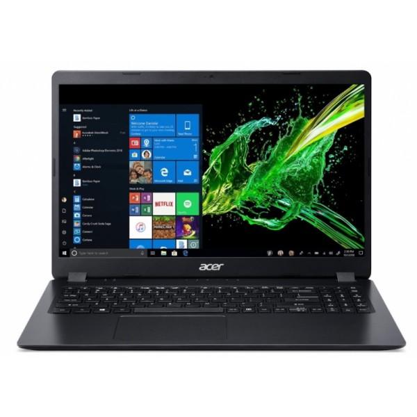"Acer Aspire 3 (A315-55KG-30EZ) - 15.6"" FullHD, Core i3-7020U, 4GB, 1TB HDD, nVidia GeForce MX130 2GB, Linux - Fekete Laptop 3 év garanciával Laptop"