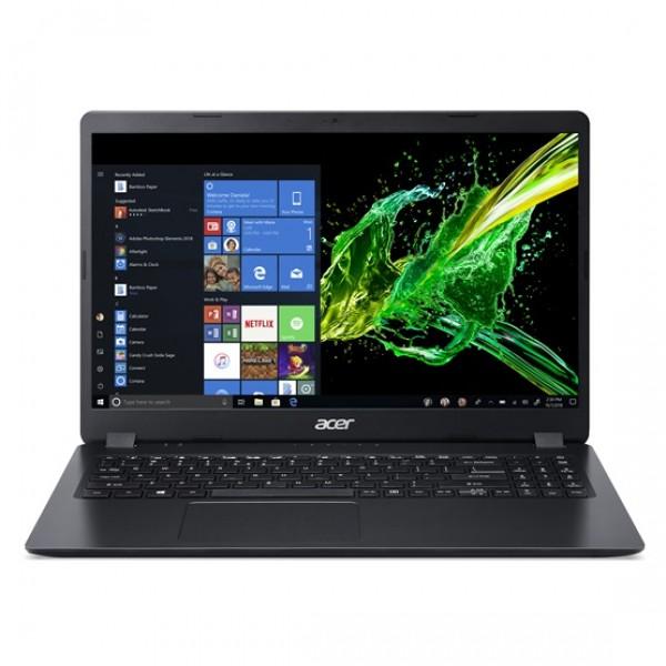 "Acer Aspire 3 (A315-54K-326D) - 15.6"" HD, Core i3-7020U, 4GB, 256GB SSD, Microsoft Windows 10 Home - Fekete Laptop 3 év garanciával Laptop"