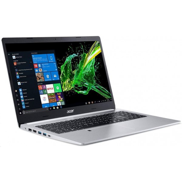 "Acer Aspire 5 (A515-54G-36F3) - 15.6"" FullHD IPS, Core i3-10110U, 4GB, 1TB HDD, nVidia GeForce MX250 2GB, Linux - Ezüst Laptop 3 év garanciával Laptop"