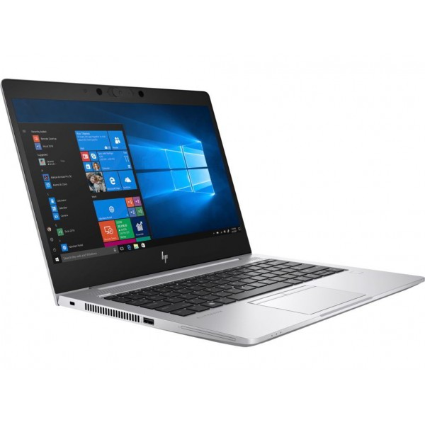 "HP EliteBook 735 G6 - 13.3"" FullHD, AMD Ryzen 3 PRO 3300U, 8GB, 256GB SSD, Radeon Vega 6, Microsoft Windows 10 Professional - Szürke Fém Üzleti Laptop 3 év garanciával Laptop"