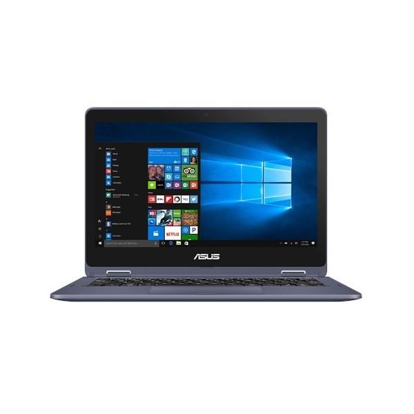 "Asus VivoBook Flip 12 (TP202NA) 2in1 - 11.6"" HD TOUCH, Celeron N3350, 4GB, 64GB eMMC, Microsoft Windows 10 Home - Fekete Átalakítható Laptop Laptop"