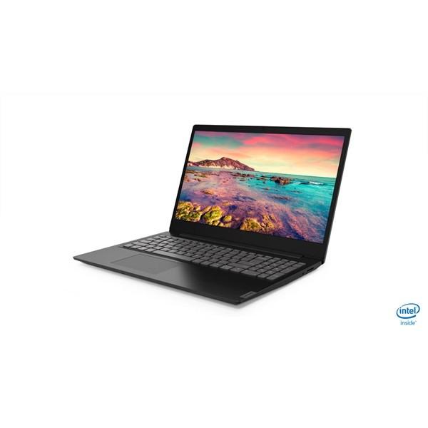 "Lenovo Ideapad S145 - 15.6"" HD, Celeron DualCore N4000, 4GB, 128GB SSD, Microsoft Windows 10 Home - Fekete Laptop Laptop"