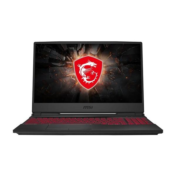 "MSI GL65 9SE - 15.6"" FullHD 120Hz, Core i7-9750H, 16GB, 512GB SSD, nVidia GeForce GTX 1660Ti 6GB, DOS - Fekete Gamer Laptop Laptop"