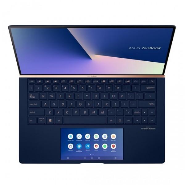 "Asus ZenBook 13 (UX334FLC) - 13.3"" FullHD, Core i5-10210U, 8GB, 256GB SSD, nVidia GeForce MX250 2GB, Microsoft Windows 10 Home - Sötétkék Ultrabook Laptop Laptop"