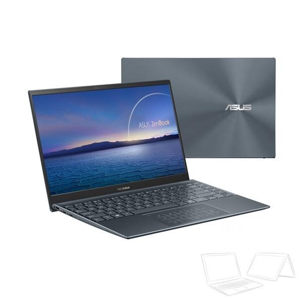 "Asus ZenBook 14 (UX425JA) - 14"" FullHD IPS, Core i7-1065G7, 16GB, 512GB SSD, Microsoft Windows 10 Home - Fenyőszürke Ultrabook Laptop"