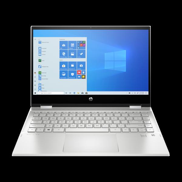 "HP Pavilion x360 2in1 - 14"" FullHD IPS TOUCH, i7-1065G7, 16GB, 512GB SSD, Microsoft Windows 10 Home - Ezüst Átalakítható Laptop 3 év garanciával Hibrid"