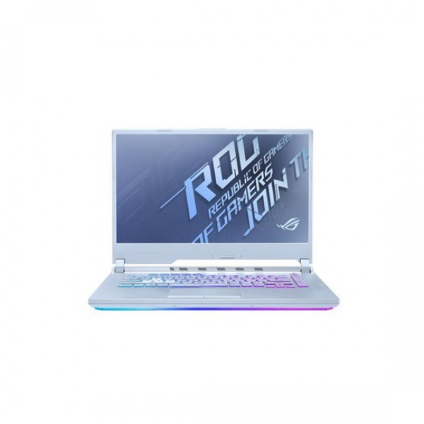 "Asus ROG Strix G15 (G512LWS) - 15.6"" FullHD IPS 240Hz, Core i7-10750H, 8GB, 512GB SSD, nVidia GeForce RTX 2070 Super 8GB, DOS - Gleccserkék Gamer Laptop Laptop"