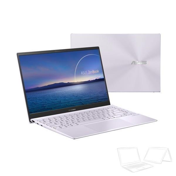 "Asus ZenBook 14 (UX425JA) - 14"" FullHD IPS, Core i5-1035G1, 16GB, 512GB SSD, Microsoft Windows 10 Home - Lila köd Ultrabook Laptop"