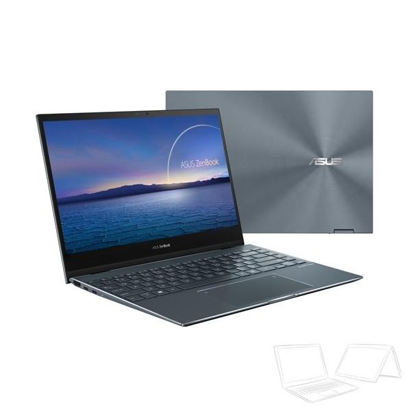 """Asus ZenBook Flip 13 (UX363JA) - 13.3"""" FHD IPS Touch, Core i7-1065G7, 16GB, 512GB SSD, Microsoft Windows 10 Home - Fenyőszürke Átalakítható Ultrabook Hibrid"""