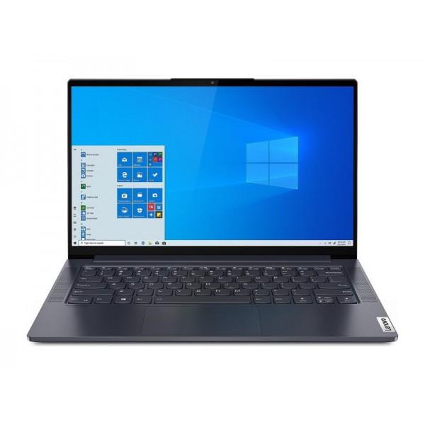 "Lenovo Yoga Slim 7 - 14"" FullHD IPS Touch, Core i5-1135G7, 8GB, 512GB SSD, Microsoft Windows 10 Home - Szövetborítású Palaszürke Ultravékony Laptop Hibrid"