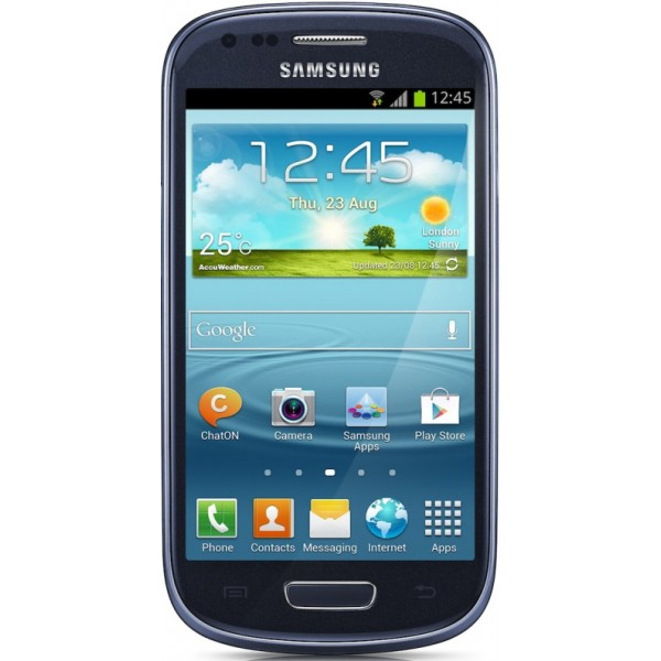 SAMSUNG I8200N GALAXY SIII MINI 8GB, PEBBLE BLUE