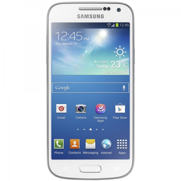 SAMSUNG I9195I GALAXY S4 MINI VE, WHITE FROST