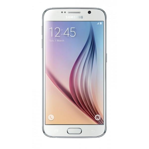SAMSUNG G920F GALAXY S6 128GB, WHITE PEARL