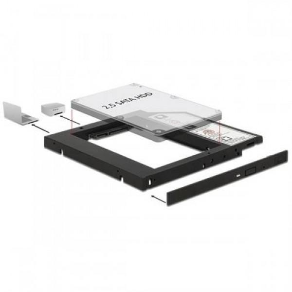 """Delock 2,5"""" HDD/SSD átalakító Slim (62669) Kiegészítők"""