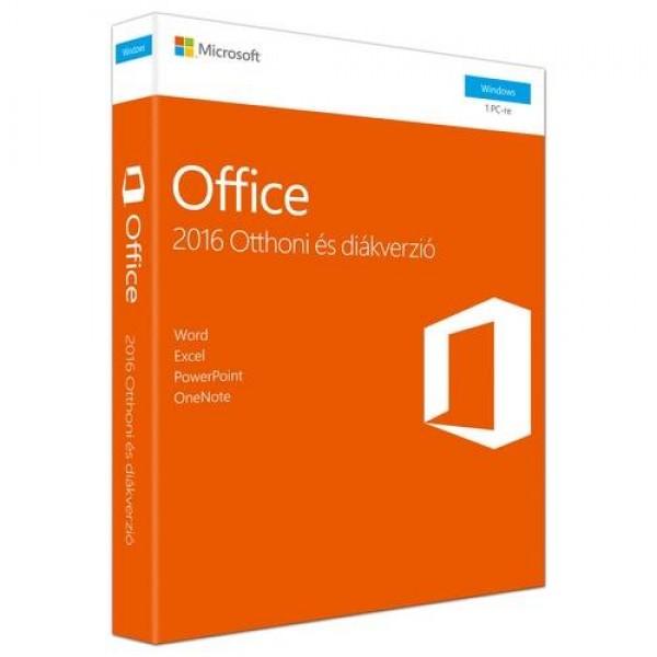 Microsoft Office 2016 Otthoni és diákverzió MSR Szoftver