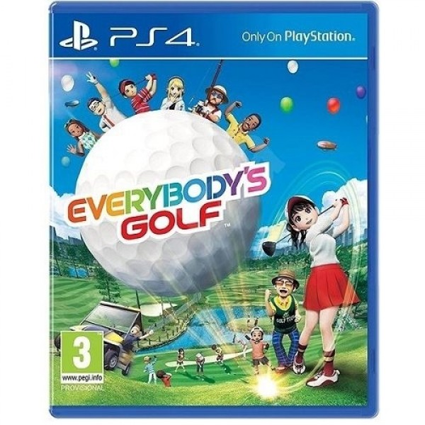 Game PS4 Everybody's Golf Konzol