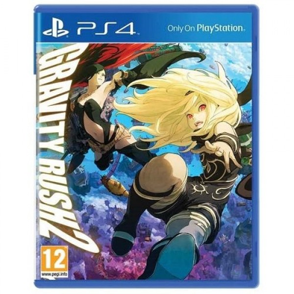 Game PS4 Gravity Rush 2 zx Konzol