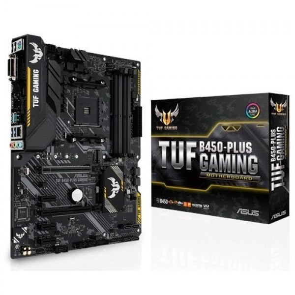 PC alaplap ASUS TUF B450-PLUS GAMING (90MB0YM0-M0EAY0) PC