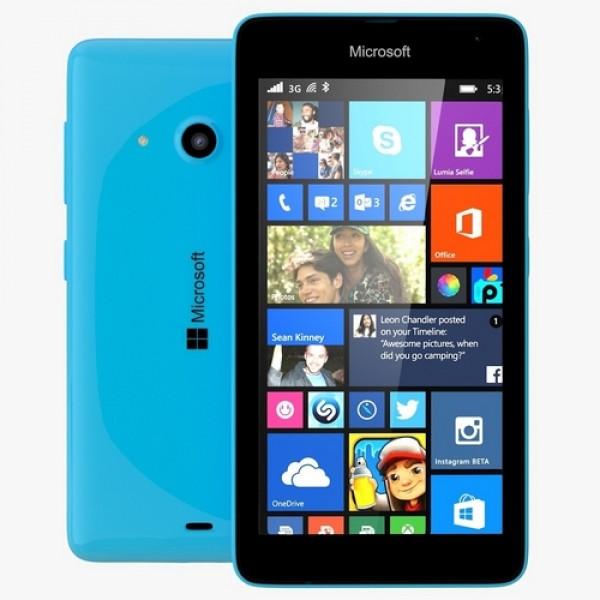 Microsoft Lumia 535 DualSim Okostelefon - Ciánkék MIM Okostelefon