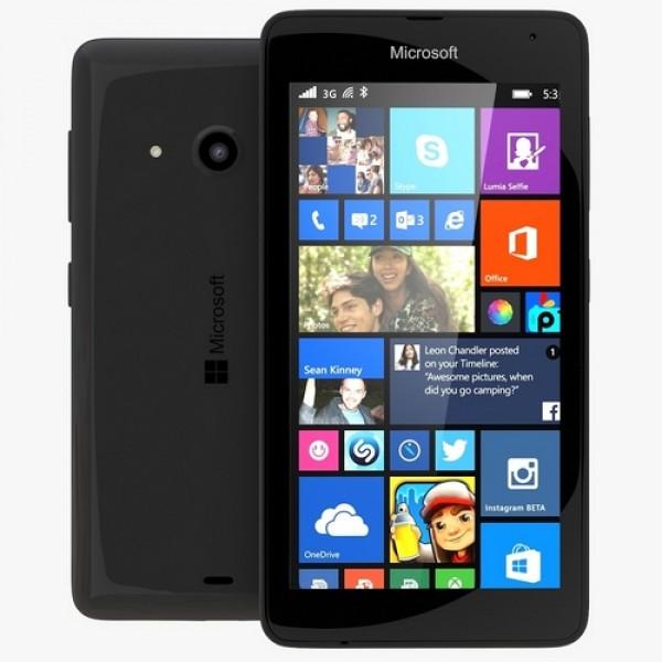 Microsoft Lumia 535 DualSim Okostelefon - Fekete MIM Okostelefon