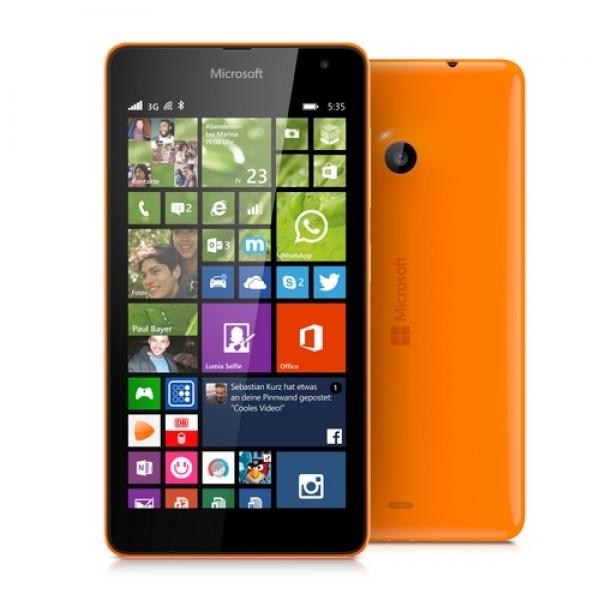 Microsoft Lumia 535 DualSim Okostelefon - Narancs MIM Okostelefon