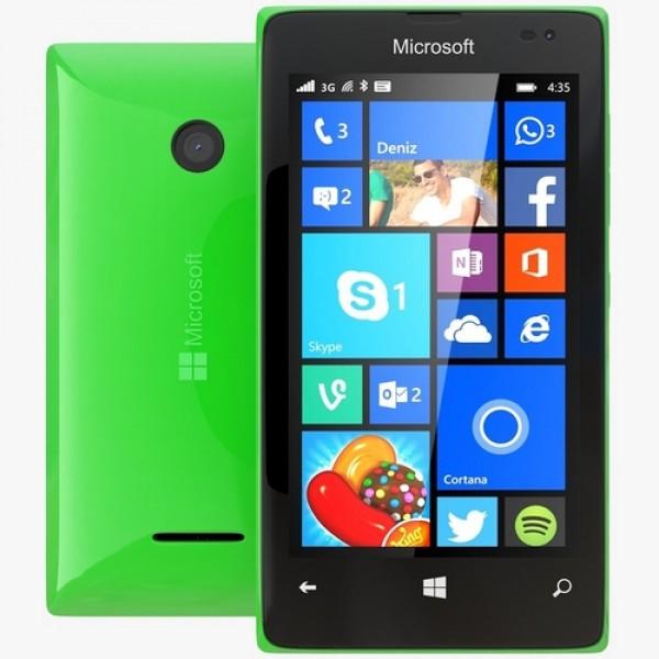 Microsoft Lumia 435 DualSim Okostelefon - Zöld Okostelefon