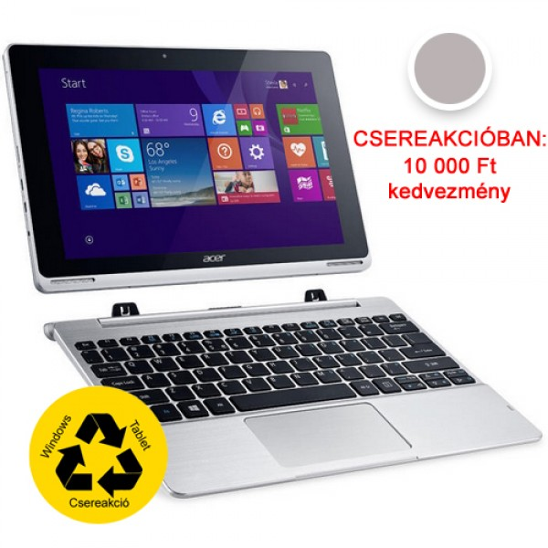 Acer Switch SW5-012-10YE Silver 2in1 Csereakcióban! Tablet
