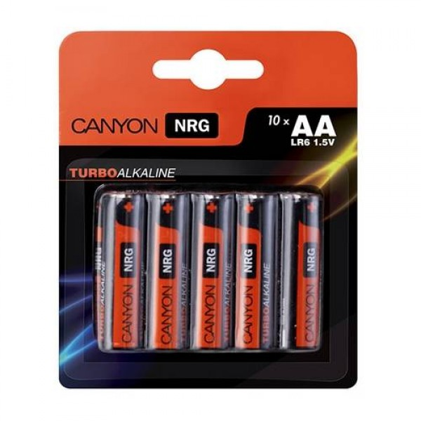 Canyon NRG alkaline battery AA (ALKAA10) Kiegészítők