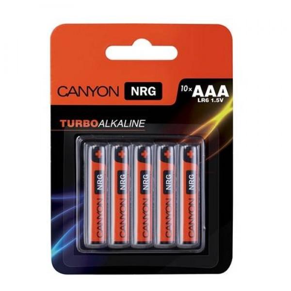 Canyon NRG alkaline battery AAA (ALKAAA10) Kiegészítők