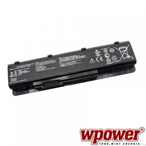Asus A32-N55 laptop akkumulátor, 5200mAh