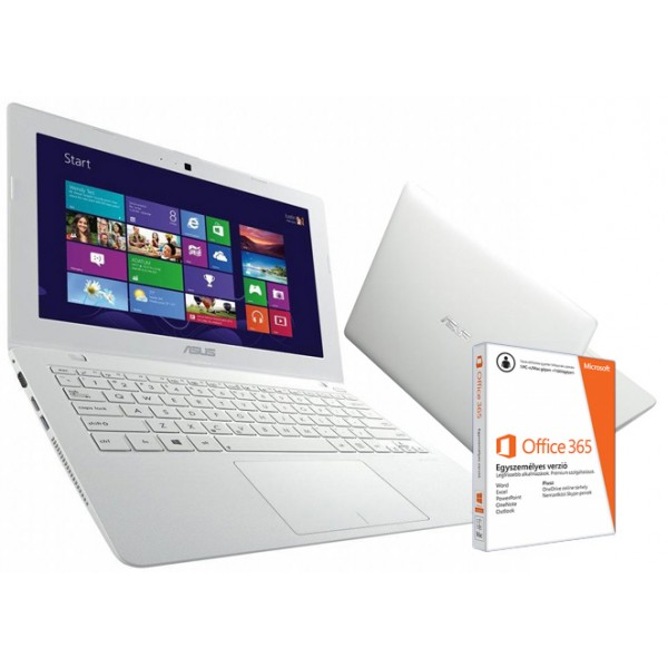 Asus X200MA-KX274D White Win8 +O365 Laptop